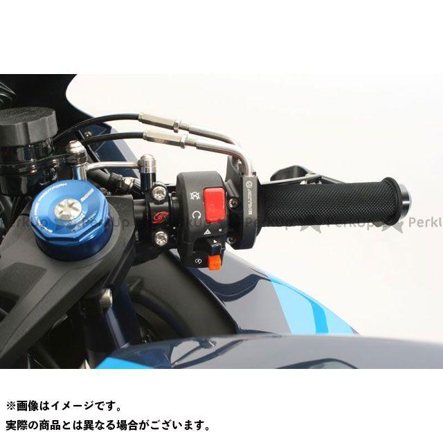送料無料 ACTIVE GSX-R1000 グリップ関連パーツ スロットルキット EVO2(シルバー) 巻取φ38/40