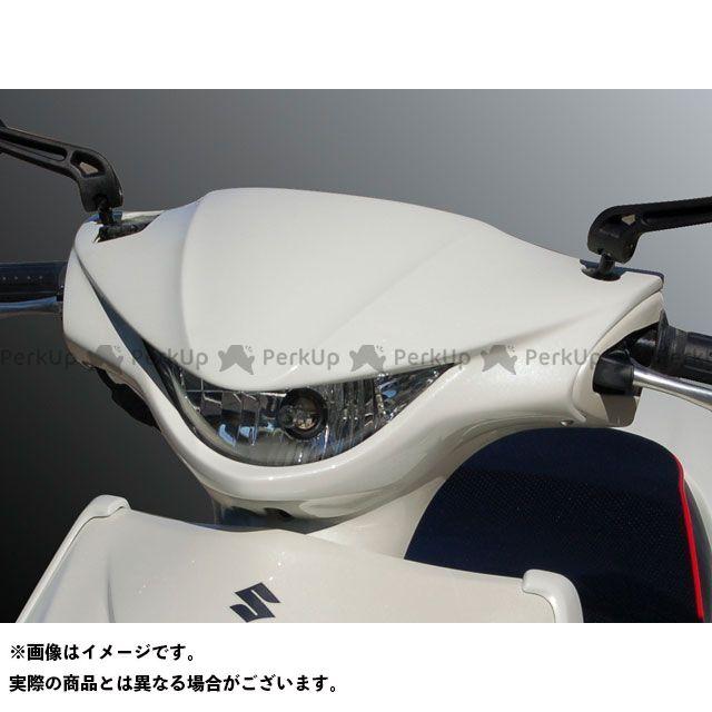 BLESS CREATION アドレスV125S カウル・エアロ フロントフェイスマスク 未塗装ゲルコート ブレスクリエイション