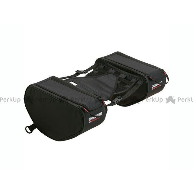 GOLDWIN ツーリング用バッグ GSM27810 スポーツシェイプサイドバッグ12(ブラック) ゴールドウイン