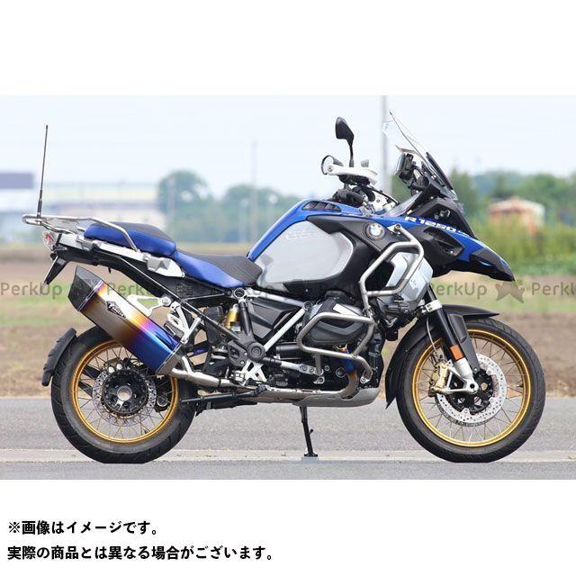 【エントリーで更にP5倍】R's GEAR R1250GS R1250GSアドベンチャー マフラー本体 ワイバンリアルスペック(チタンドラッグブルー) アールズギア