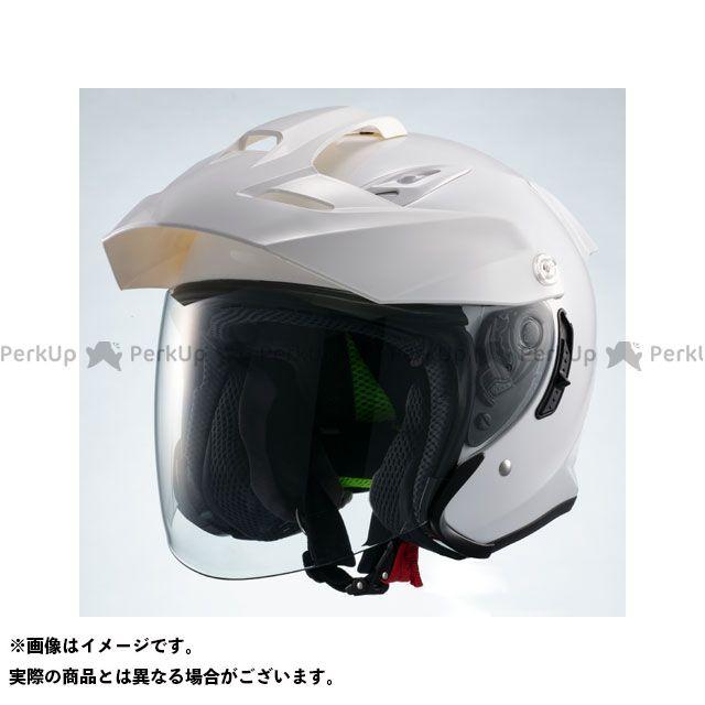 【特価品】マルシン ジェットヘルメット インナーバイザー付きジェットヘルメット MSJ1 TE-1(ホワイト) サイズ:L Marushin