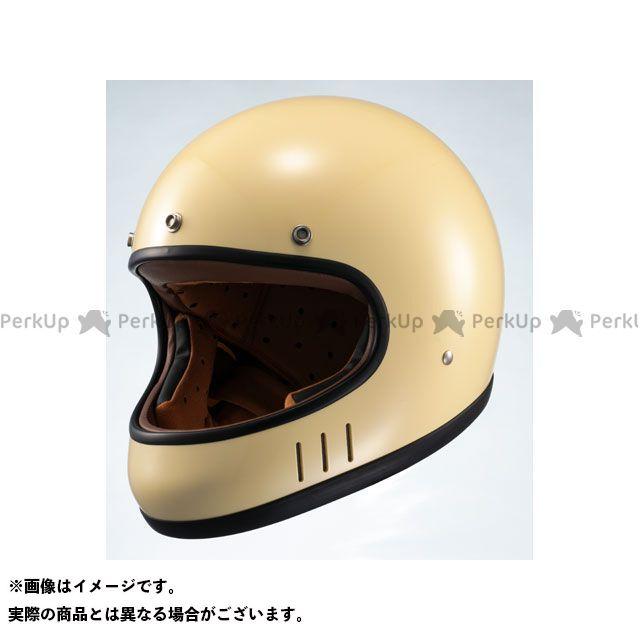 【特価品】マルシン フルフェイスヘルメット ネオレトロスタイル フルフェイス MNF2 DRILL(ドリル) アイボリー サイズ:M Marushin