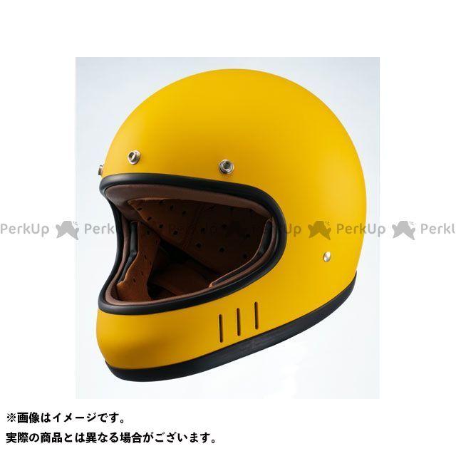送料無料 Marushin マルシン フルフェイスヘルメット ネオレトロスタイル フルフェイス MNF2 DRILL(ドリル) マスタードイエロー L