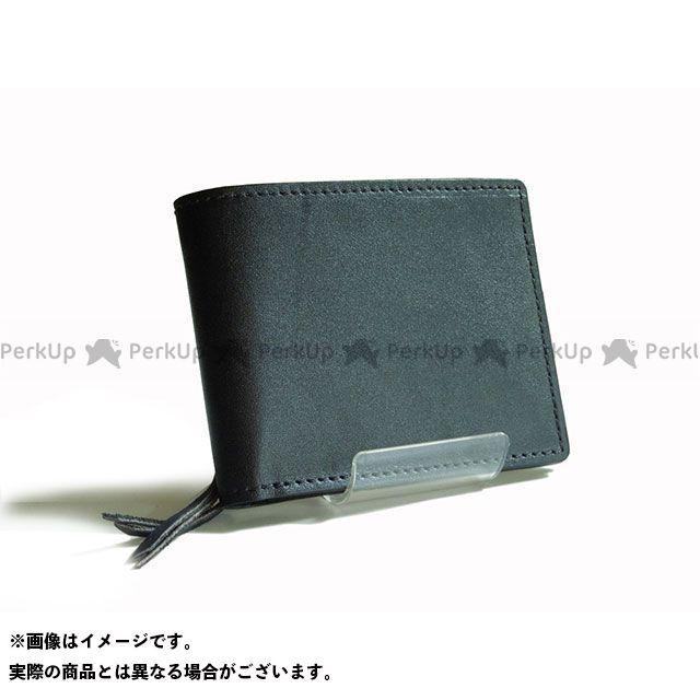 Leather Studio DESIR 財布 ウォレット(ブラック) レザースタジオデジール