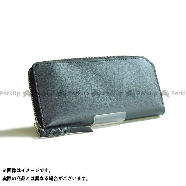 Leather Studio DESIR 財布 ラウンドファスナーウォレット(ブラック) レザースタジオデジール