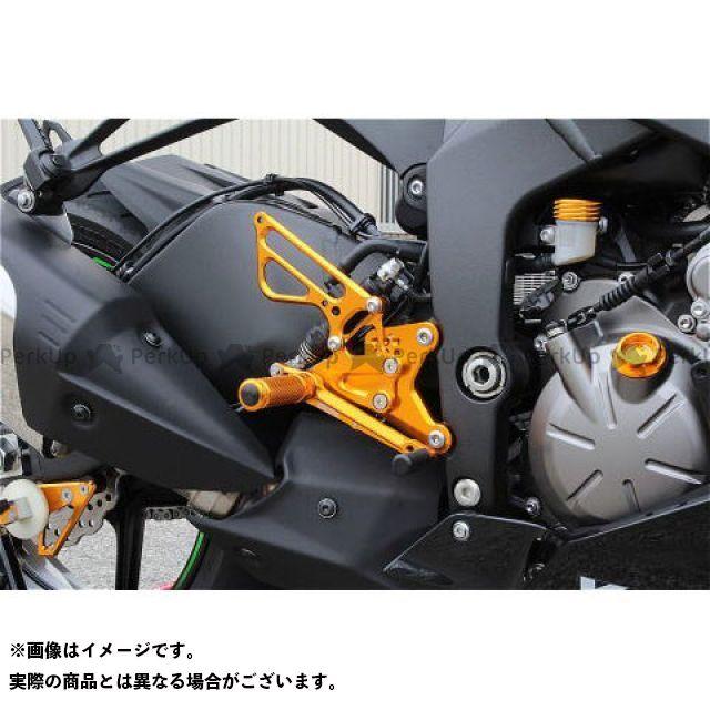 【無料雑誌付き】BABYFACE ニンジャZX-6R バックステップ関連パーツ バックステップキット(正シフト) カラー:ゴールド ベビーフェイス