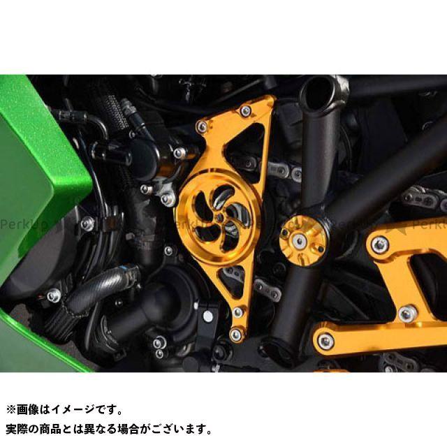 【無料雑誌付き】BABYFACE ニンジャH2 SX SE バックステップ関連パーツ シフトスピンドルホルダー カラー:ゴールド ベビーフェイス