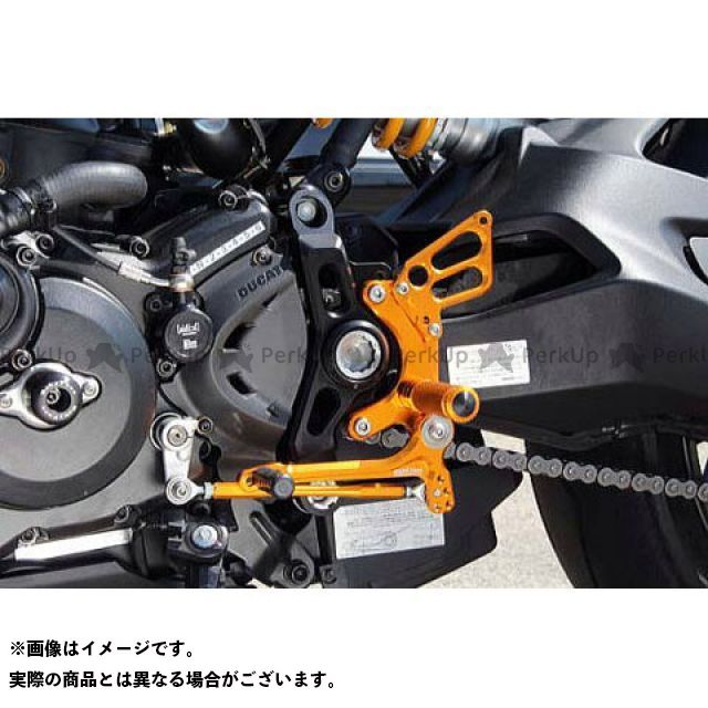 【無料雑誌付き】BABYFACE モンスター1200R バックステップ関連パーツ バックステップキット カラー:ブラック ベビーフェイス
