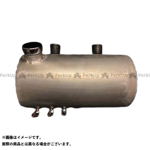 ブヒンヤケーアンドダブリュー 汎用 タンク関連パーツ Lowbrow Customs フィンドアルミオイルタンク(ロウ) 部品屋K&W