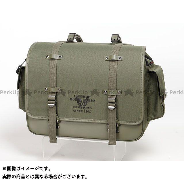 デグナー ツーリング用バッグ NB-182 ミリタリーサドルバッグ(カーキ) DEGNER