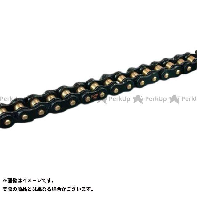 送料無料 RK EXCEL 汎用 チェーン関連パーツ ストリート用チェーン BL530R-XW(ブラック) 110L