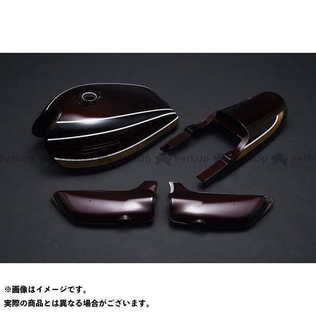 M-TEC中京 MRS 外装セット 玉虫マルーンペイント 4点セット ロングピッチ M-TEC中京