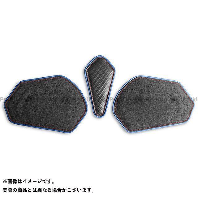 CBR600RR タンク関連パーツ タンクリーフ/Sport フルキット カラー:TEC-GRIP/ブルー/レッドステッチ LUI MOTO