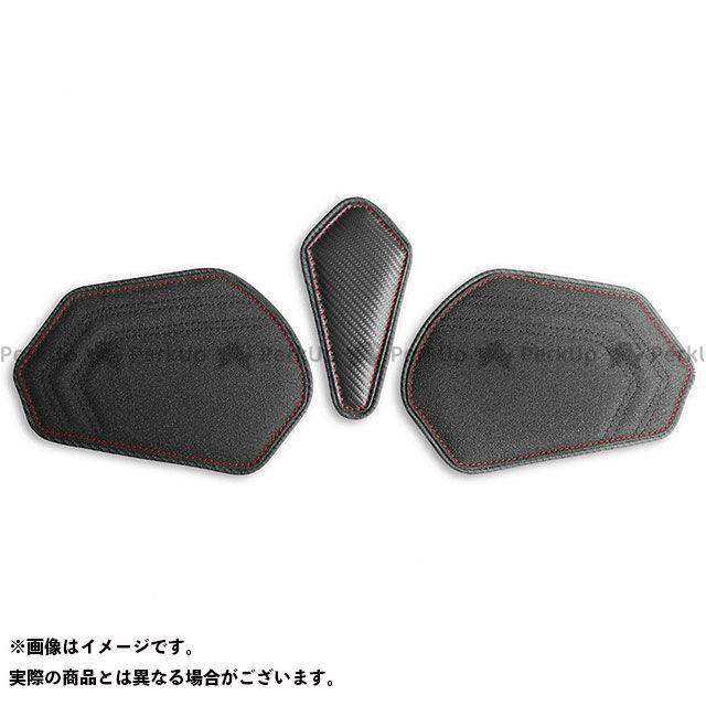 CBR600RR タンク関連パーツ タンクリーフ/Sport フルキット カラー:TEC-GRIP/CFブラック/レッドステッチ LUI MOTO