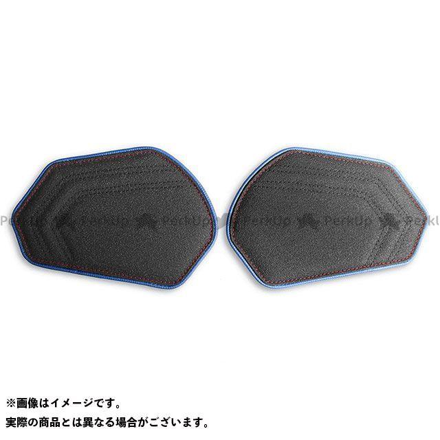 【エントリーで最大P23倍】 CBR600RR タンク関連パーツ タンクリーフ/Sport ニーグリップパッド カラー:TEC-GRIP/ブルー/レッドステッチ LUI MOTO