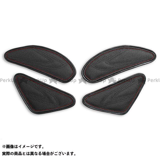 ニンジャZX-10R タンク関連パーツ タンクリーフ/Sport ニーグリップパッド カラー:TEC-GRIP/CFブラック/レッドステッチ LUI MOTO