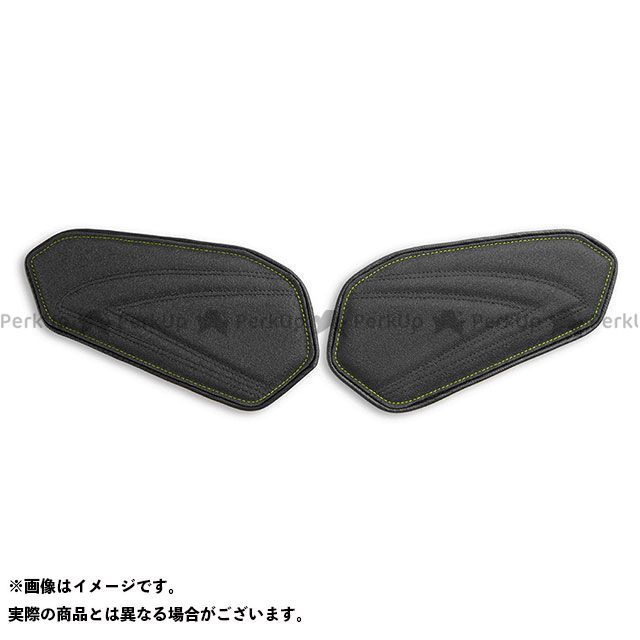 GSX-R600 GSX-R750 タンク関連パーツ タンクリーフ/Sport ニーグリップパッド カラー:TEC-GRIP/CFブラック/ネオンステッチ LUI MOTO