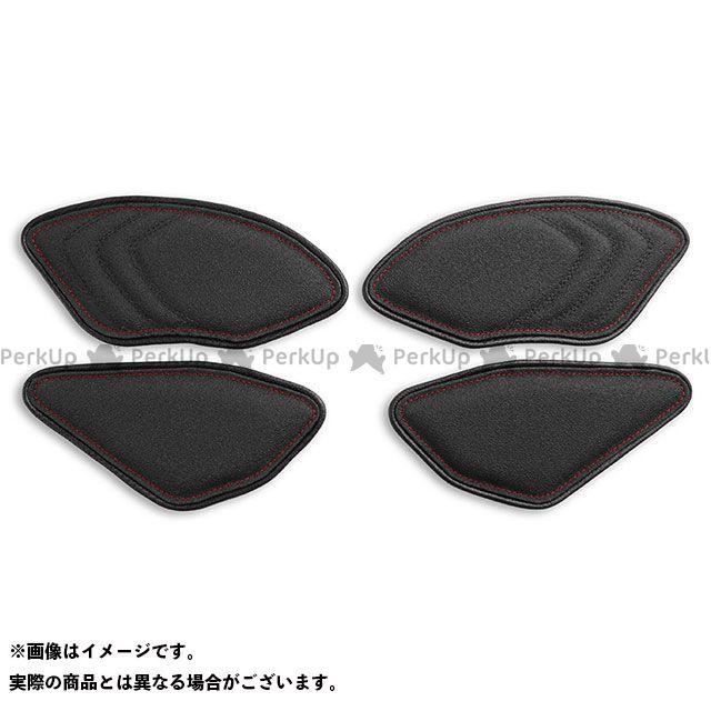 YZF-R1 タンク関連パーツ タンクリーフ/Sport ニーグリップパッド カラー:TEC-GRIP/CFブラック/レッドステッチ LUI MOTO