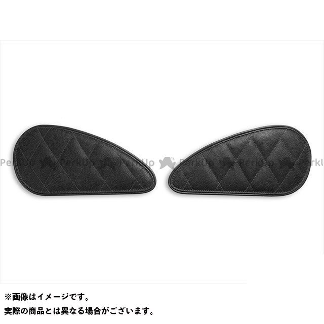 タンク関連パーツ タンクリーフ/Diamond ニーグリップパッド カラー:TEC-GRIP/ビンテージブラック LUI MOTO