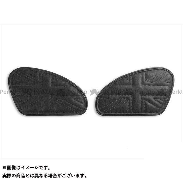 タンク関連パーツ タンクリーフ/Union Jack ニーグリップパッド カラー:TEC-GRIP/ビンテージブラック LUI MOTO