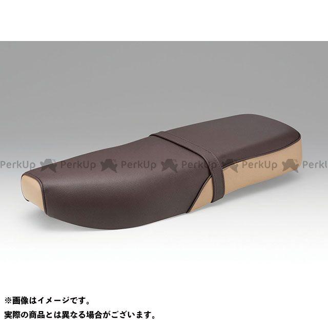 KIJIMA クロスカブ110 スーパーカブ110 スーパーカブ110プロ シート関連パーツ ダブルシート(ダークブラウン) キジマ