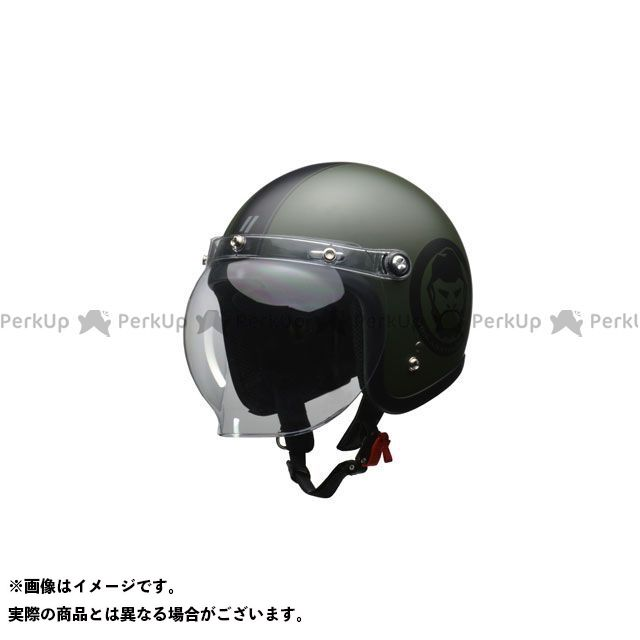 送料無料 リード工業 LEAD工業 ジェットヘルメット MOUSSE ジェットヘルメット(マットグリーン)