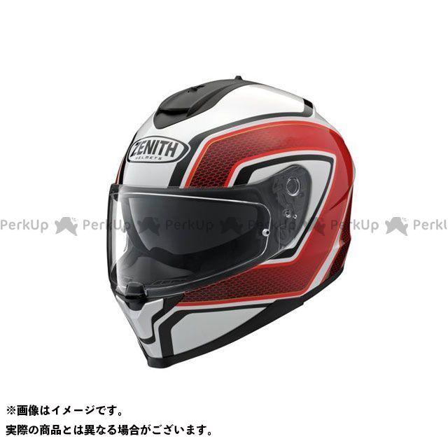 Y'S GEAR フルフェイスヘルメット YF-9 ZENITH スポーツストライプ レッド サイズ:L ワイズギア
