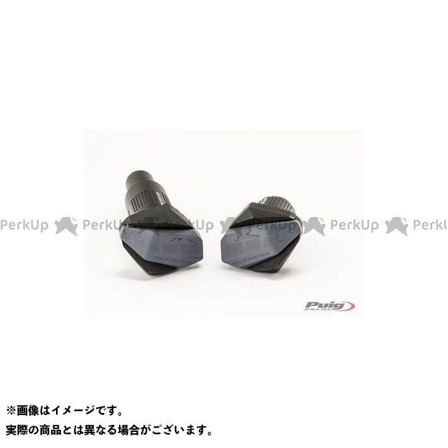 【エントリーで更にP5倍】Puig YBR250 スライダー類 クラッシュパッド R-TYPE(ブラック) プーチ