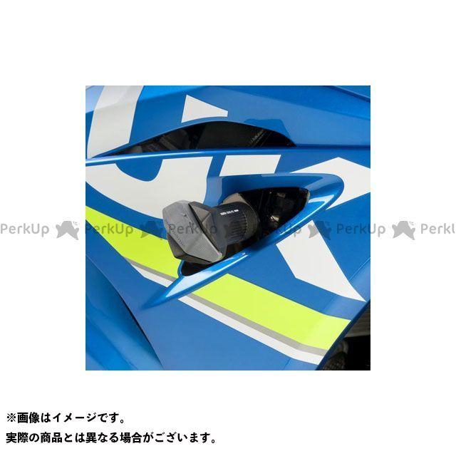 Puig GSX-R1000 スライダー類 クラッシュパッド R12-TYPE(ブラック)