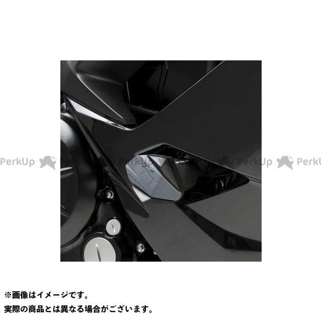 Puig ニンジャ650 スライダー類 クラッシュパッド R12-TYPE(ブラック) プーチ