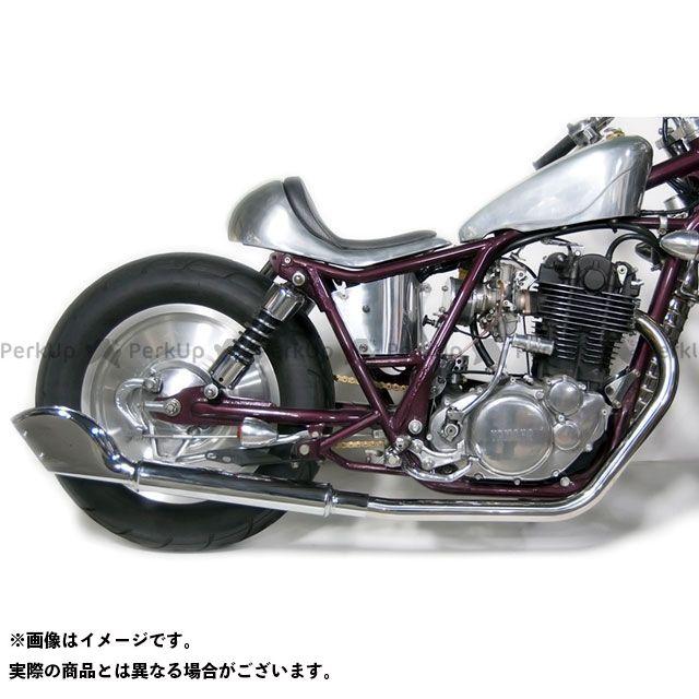 Motor Rock SR400 SR500 マフラー本体 SR400/500用(FI車) クラシックフィッシュテールマフラー フルエキ 仕様:ダウン モーターロック