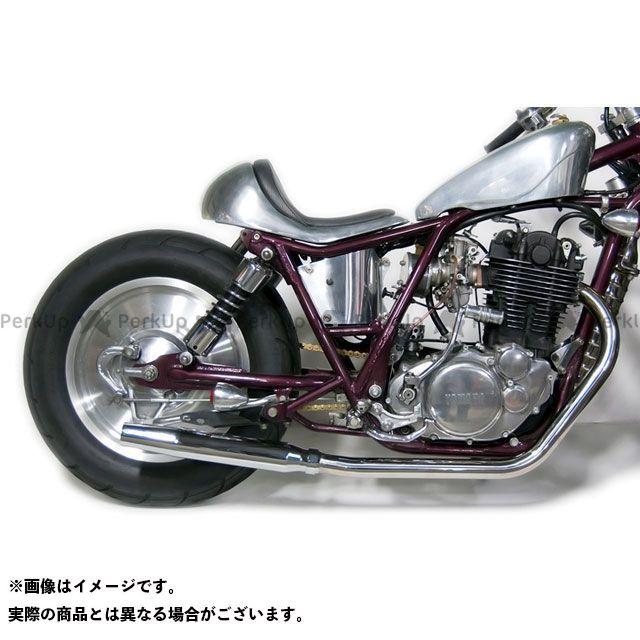 Motor Rock SR400 SR500 マフラー本体 SR400/500用(FI車) テーパードマフラー フルエキ ダウン モーターロック