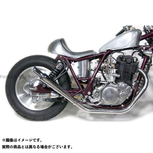 Motor Rock SR400 SR500 マフラー本体 SR400/500用(FI車) トランペットマフラー/ストレート フルエキ 仕様:アップ モーターロック