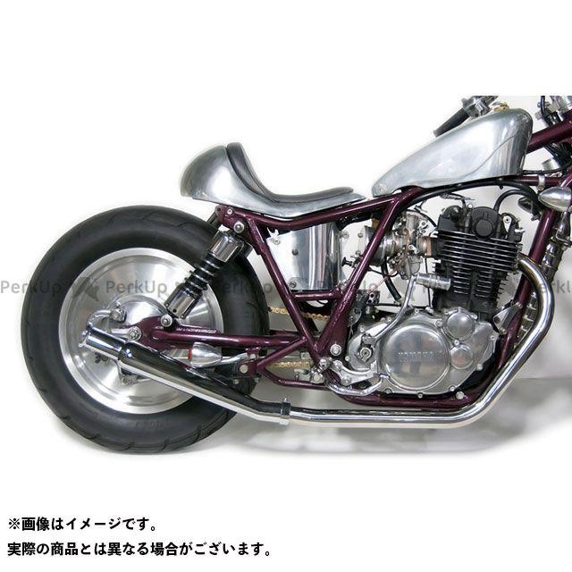 Motor Rock SR400 SR500 マフラー本体 SR400/500用(FI車) トランペットマフラー/アップ フルエキ 仕様:ダウン モーターロック