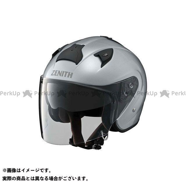 送料無料 ワイズギア Y'S GEAR ジェットヘルメット YJ-14 ZENITH クリスタルシルバー L/59-60cm未満