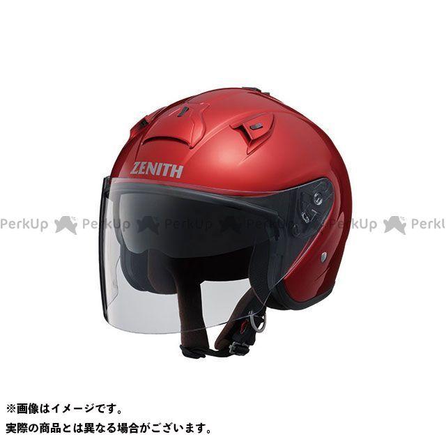 送料無料 ワイズギア Y'S GEAR ジェットヘルメット YJ-14 ZENITH キャンディレッド M/57-58cm