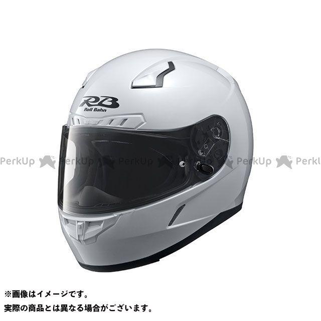 Y'S GEAR フルフェイスヘルメット YF-8 Roll Bahn ソリッド カラー:パールホワイト サイズ:M/57-58cm ワイズギア
