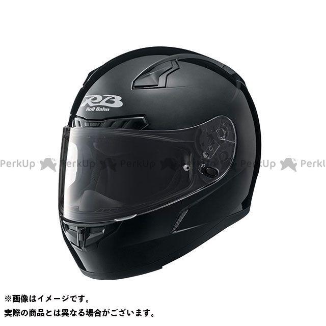 Y'S GEAR フルフェイスヘルメット YF-8 Roll Bahn ソリッド カラー:メタルブラック サイズ:M/57-58cm ワイズギア