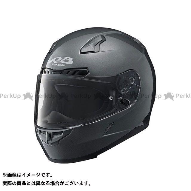 Y'S GEAR フルフェイスヘルメット YF-8 Roll Bahn ソリッド カラー:ダークメタリックシルバー サイズ:L/59-60cm未満 ワイズギア