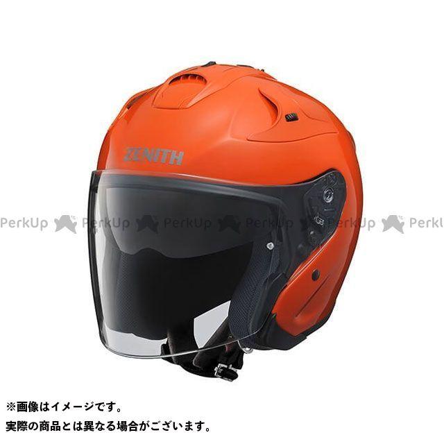 Y'S GEAR ジェットヘルメット YJ-17 ZENITH-P カラー:ダークオレンジ サイズ:S/55-56cm ワイズギア