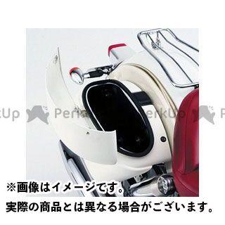 Y'S GEAR ツーリング用ボックス スムースサイドケース カラー:ホワイト ワイズギア