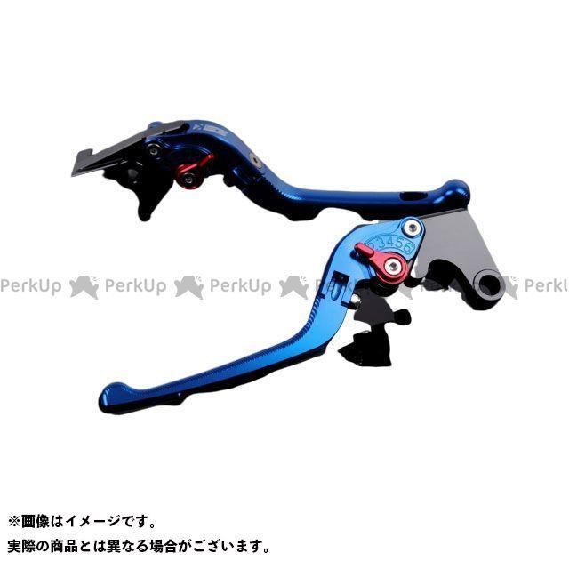 出色 エスエスケー SSK レバー ハンドル 100%品質保証! 無料雑誌付き レバー本体:ブルー ニンジャZX-14R アルミビレットアジャストレバーセット アジャスター:レッド 3D可倒式