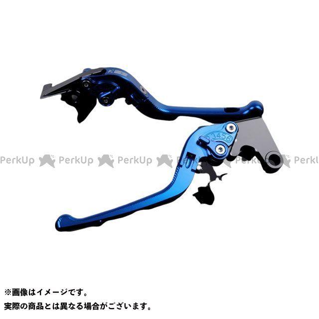 エスエスケー ラッピング無料 SSK レバー ハンドル 無料雑誌付き レバー本体:ブルー 3D可倒式 お得セット アルミビレットアジャストレバーセット アジャスター:ブルー GSX-R1000