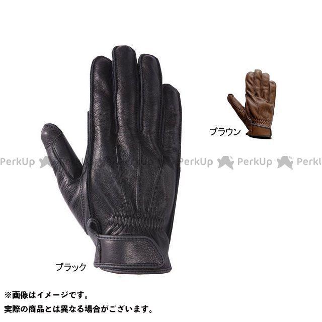 Y'S GEAR レザーグローブ TT-419 ウォッシャブルレザーグローブ ブラック L ワイズギア