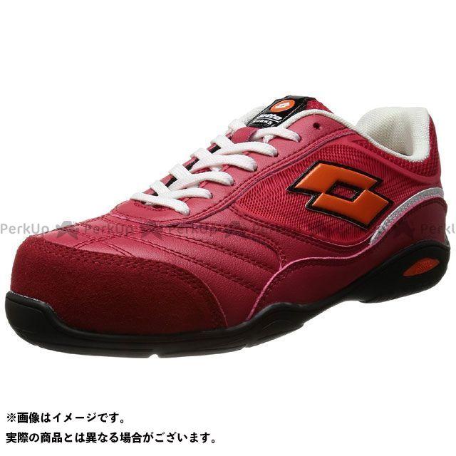 ロットワークス メカニックシューズ 安全靴 ENERGY カラー:レッド/ホワイト サイズ:26.0cm LOTTO WORKS