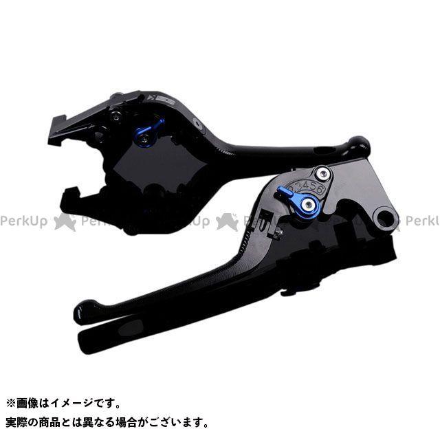 エスエスケー SSK レバー ハンドル 無料雑誌付き YZF-R1 返品交換不可 3D可倒式 アルミビレットアジャストレバーセット 祝日 アジャスター:ブルー レバー本体:ブラック YZF-R6