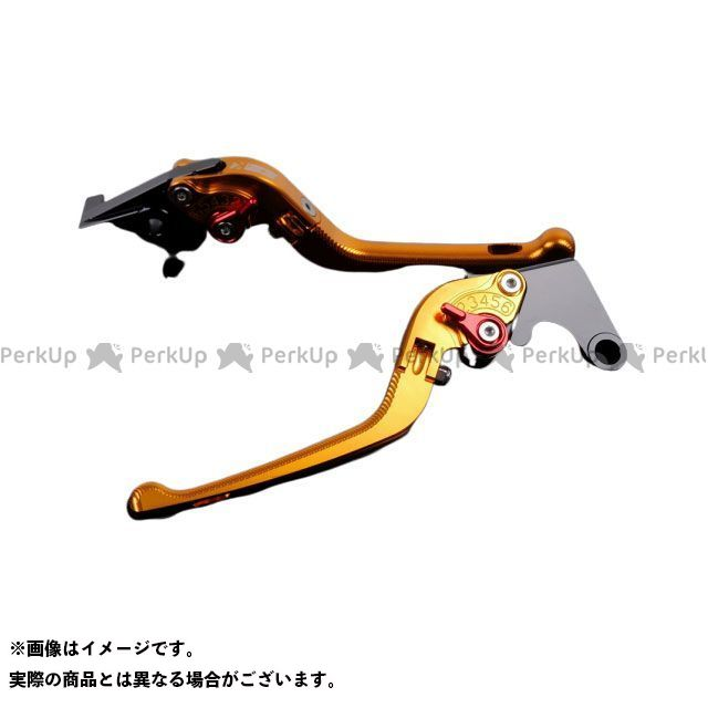 エスエスケー SSK レバー ハンドル 無料雑誌付き FZ1フェザー FZ-1S 日本最大級の品揃え アジャスター:レッド YZF-R6 3D可倒式 アルミビレットアジャストレバーセット YZF-R1 格安SALEスタート レバー本体:ゴールド