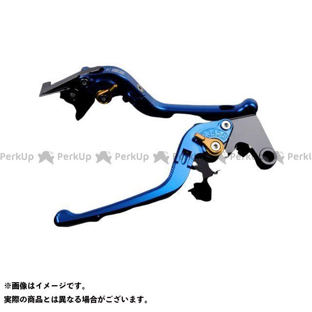 エスエスケー 完全送料無料 SSK レバー 限定価格セール ハンドル 無料雑誌付き FZ1フェザー FZ-1S アルミビレットアジャストレバーセット YZF-R6 YZF-R1 アジャスター:ゴールド 3D可倒式 レバー本体:ブルー