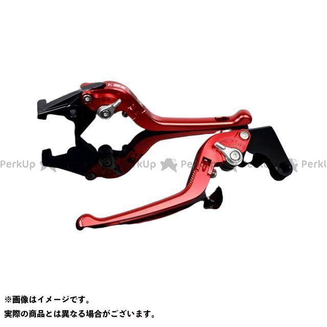エスエスケー SSK レバー ハンドル 日本未発売 無料雑誌付き 引出物 FZ1フェザー FZ-1S アジャスター:シルバー レバー本体:レッド YZF-R6 YZF-R1 3D可倒式 アルミビレットアジャストレバーセット