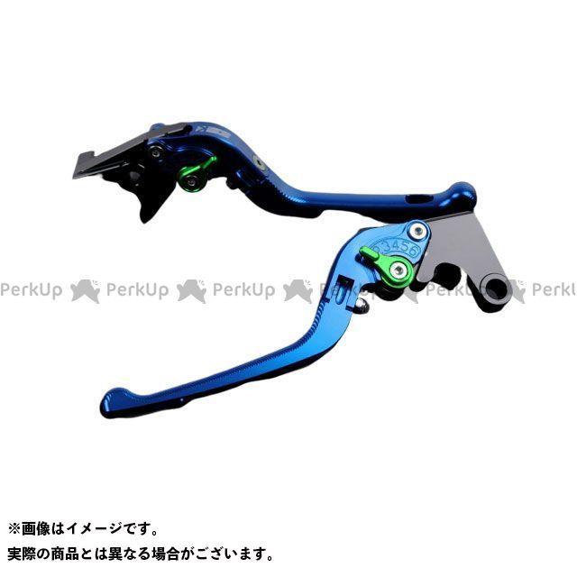 エスエスケー 超激安 SSK レバー ハンドル 無料雑誌付き レバー本体:ブルー アルミビレットアジャストレバーセット 3D可倒式 お気に入り アジャスター:グリーン YZF-R1